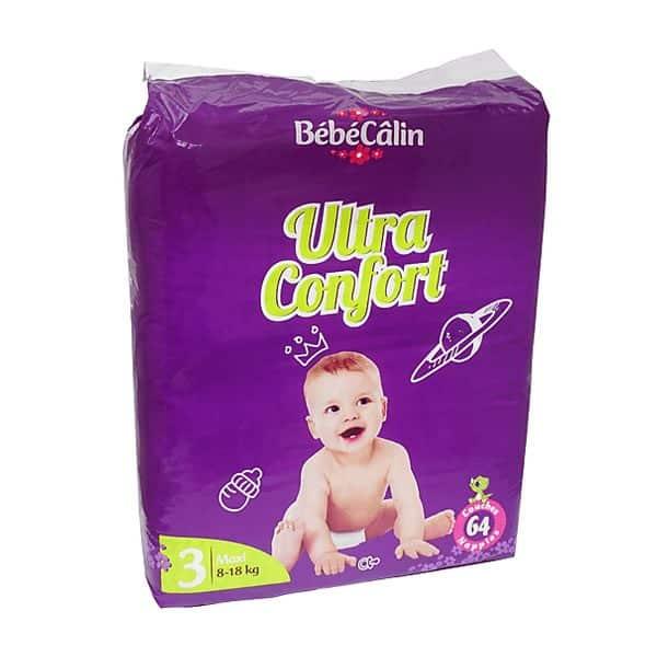 Bebecalin Ultra Confort Jumbo Pack Maxi x64 (8-18kg)
