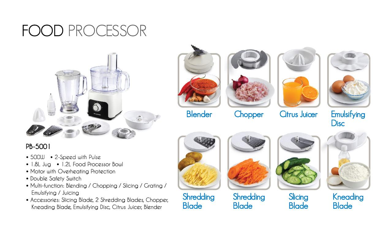 Pensonic Food Processor Robot X