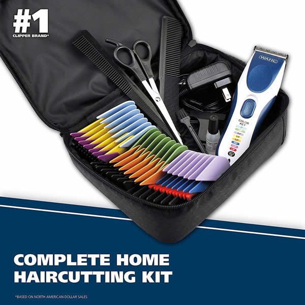 WAHL Color Pro Hair Clipper & Trimmer Cordless 9649