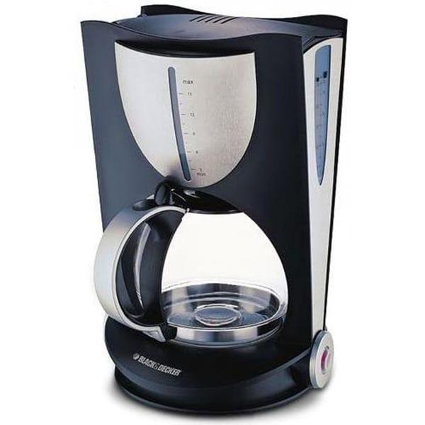 BLACK N DECKER 12 Cup Coffee Maker 220 Volts Medium, Black DCM80