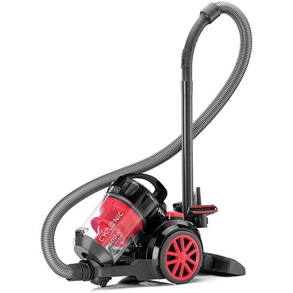 BLACK N DECKER Bagless Cyclonic Canister Vacuum Cleaner, Multi Color VM1680