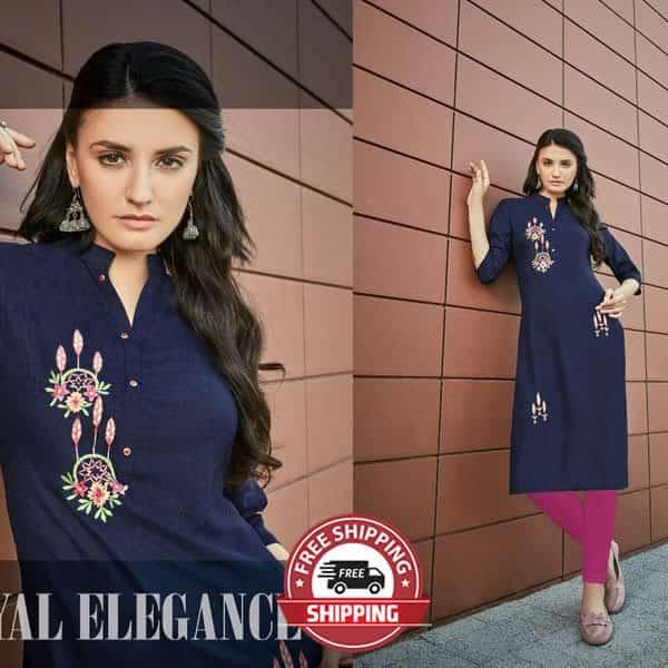 PARSHV Indian Kurti - Model Elegance