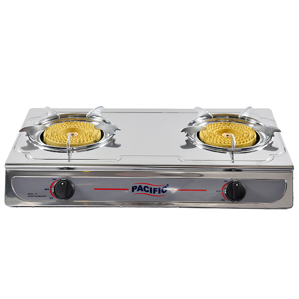 PACIFIC Double Gas Stove (Big Fire) Y8