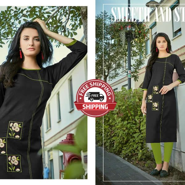 PARSHV Indian Kurti - Model Teerie