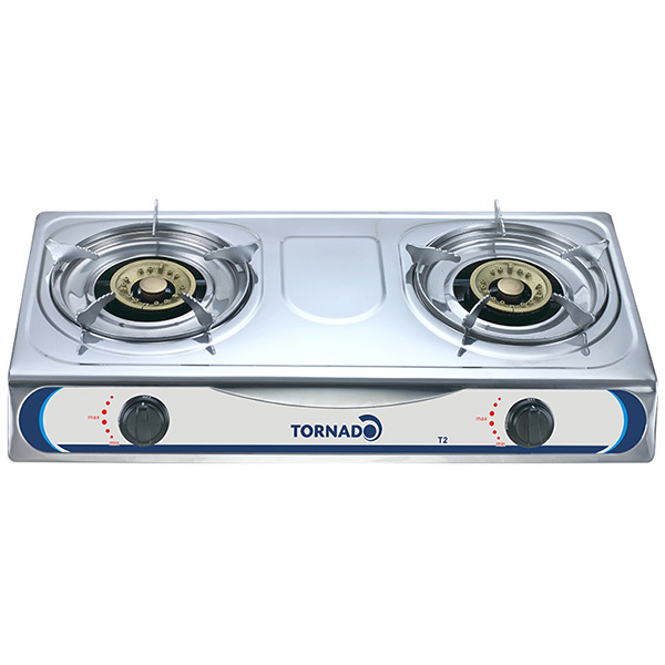 TORNADO Double Gas Stove NEW T2