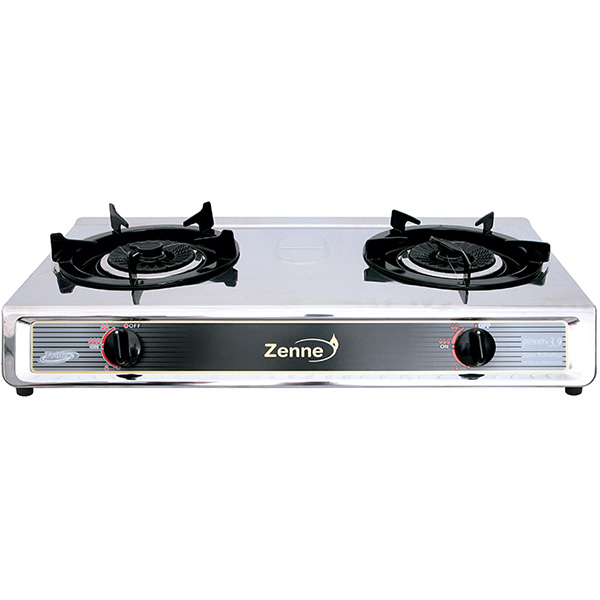 ZENNE Double Gas Stove Twister KGS401A-S