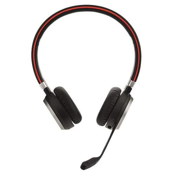 JABRA Evolve 65 Headset MS Duo USB Bluetooth Microsoft Cert. - 6599-823-309