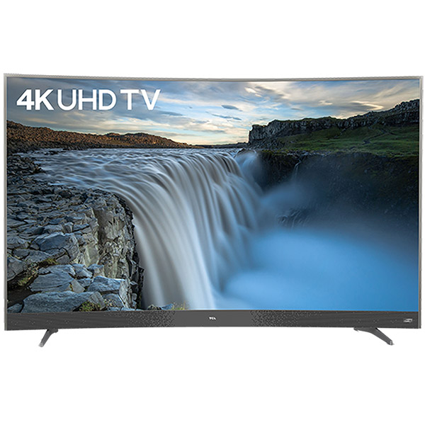 "TCL 55"" 4K UHD Smart Curved TV - 55P3CUS"