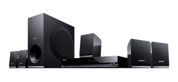 SONY DVD Home Cinema - 5.1 Surround (USB, CD, DVD)