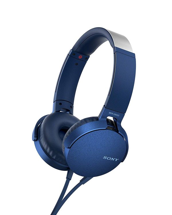 Sony Headset - Extra Bass Headphone - Model MDR-XB550AP