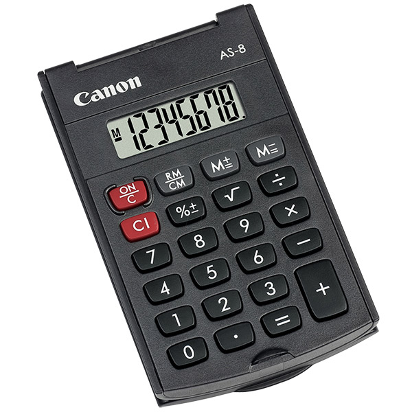 CANON 8 Digits Calculator AS-8