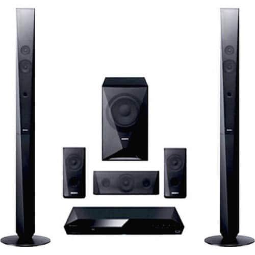 SONY DVD Home Cinema - 5.1 Surround (DVD, CD, USB, Bluetooth)