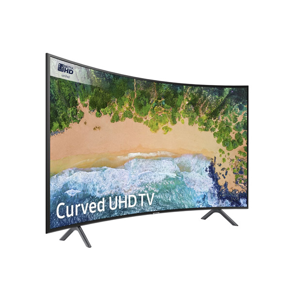 """Samsung 55"""" 4K Curved Smart TV"""