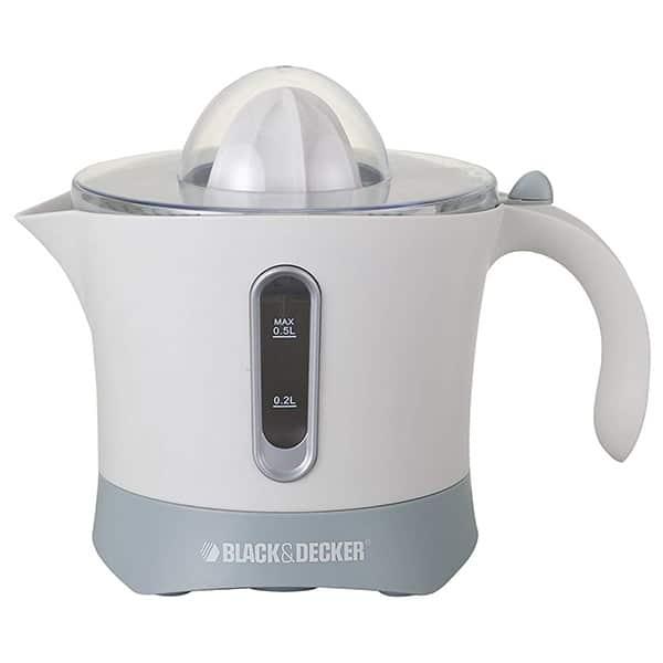 BLACK N DECKER 30W Citrus Juicer (White And Gray) CJ650