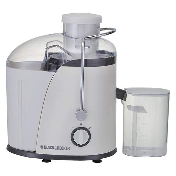 BLACK N DECKER 400W Juice Extractor (White) JE400