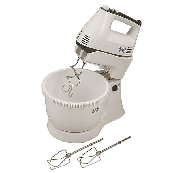 BLACK N DECKER Hand Mixer 300W, White M700
