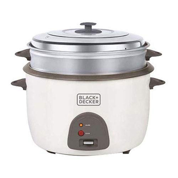 BLACK N DECKER 220 Volts Rice Cooker 4.5L White RC4500
