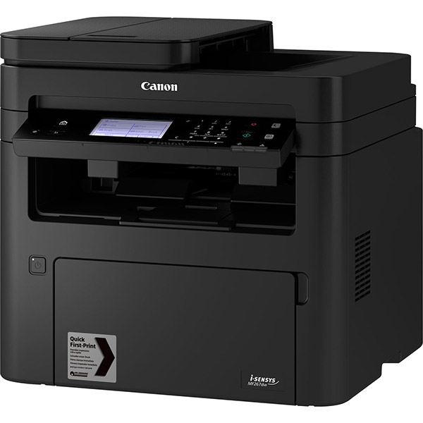 CANON Laser Monochrome Printer - Print, Scan, Copy & Fax - I-SENSYS MF267DW