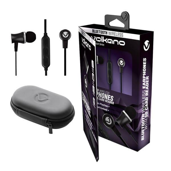 VOLKANO Bluetooth Earphones Chromium Series