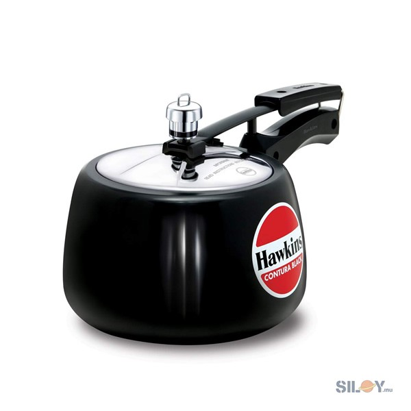 Hawkins Contura Black Pressure Cooker 4L