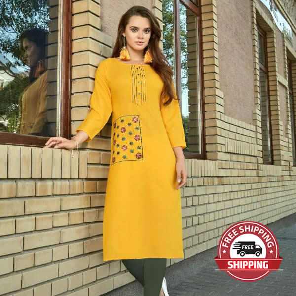 PARSHV Indian Kurti - Model Coolest Happening