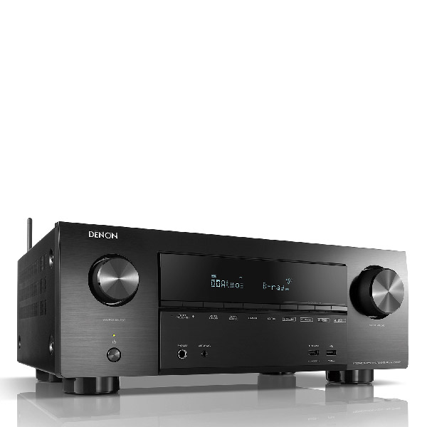 DENON 7.2ch 4K Ultra HD AV Receiver with 3D Home Audio AVR-X2600H