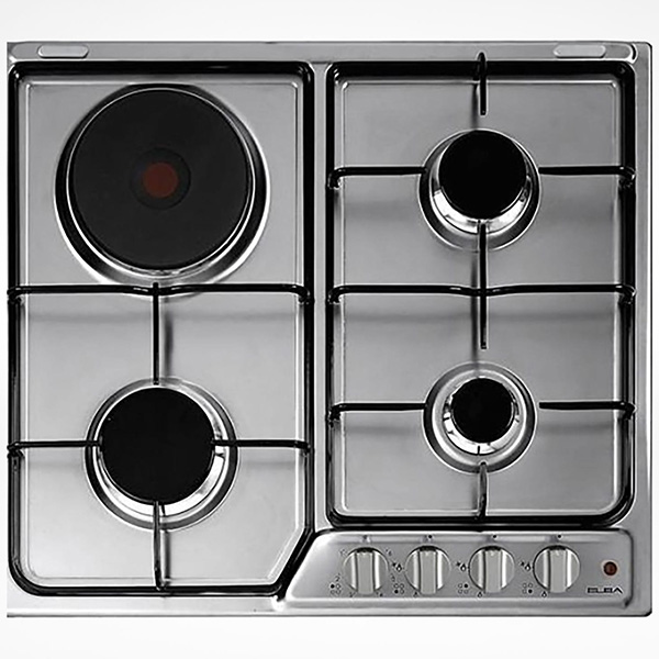 ELBA Gas Hob Stainless Steel 60cm Flame Safe EF60-310X