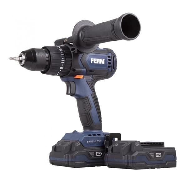 FERM Power Cordless Brushless Drill 20V 2.0Ah CDM1138