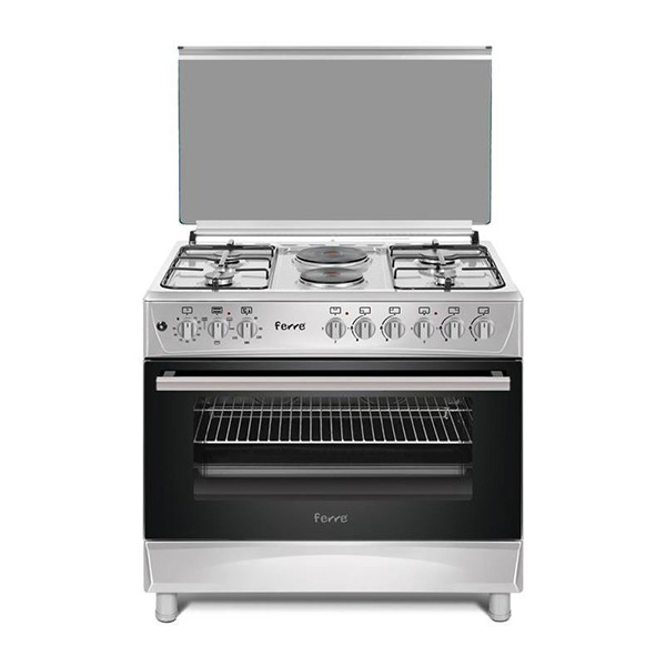 FERRE - Premium Gas Cooker, 4 Gas 2 Electric Cooker