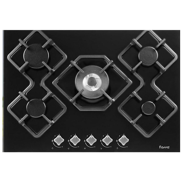 FERRE - Built-In Hob, European Design, Dishwasher Safe Grid