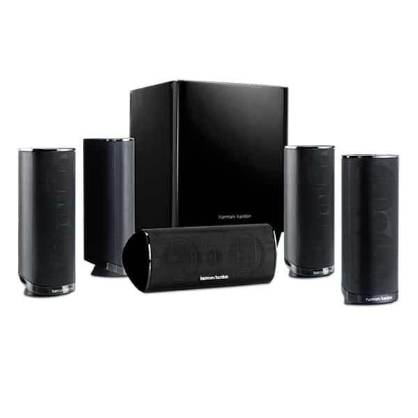 HARMAN KARDON - 5.1-Channel 120W Home Theater Speaker - HKTS16
