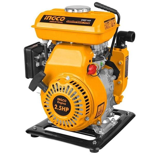 INGCO - Gasoline Water Pump, 105CC, 2.5HP, 1.2L - GWP102
