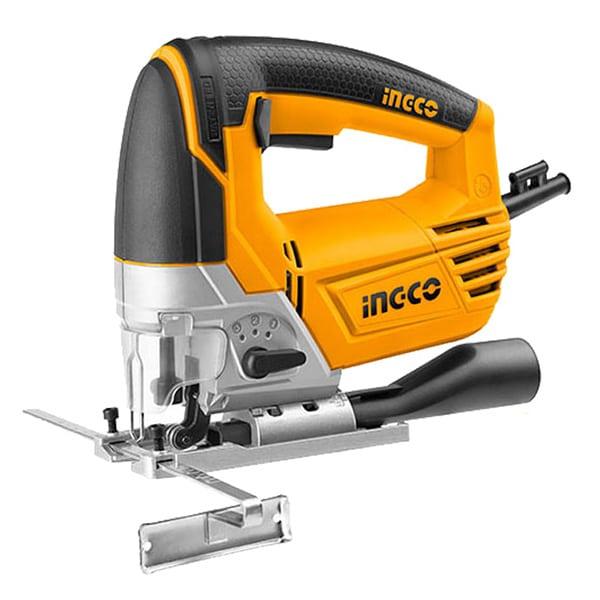 INGCO - Jig Saw, 800W, 5Pcs Saw Blade, 100MM Max. Cut - JS80028
