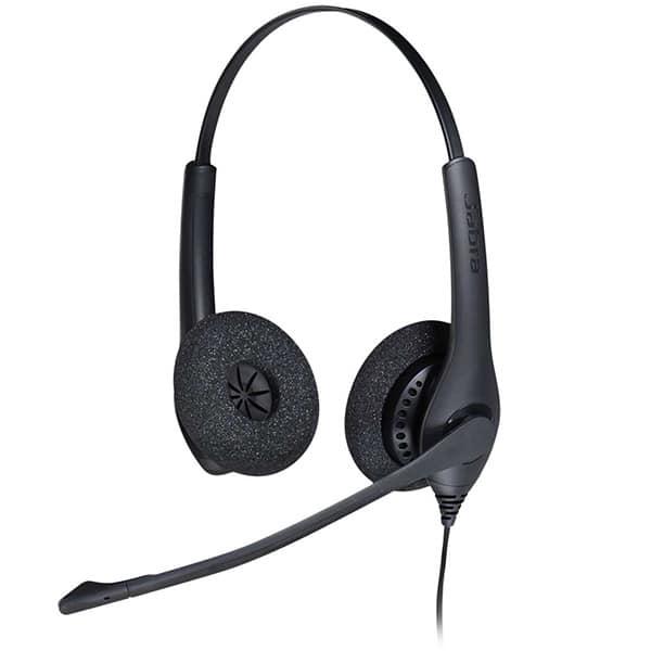 JABRA BIZ 1500 USB Duo Wideband Noise-Cancelling Headset