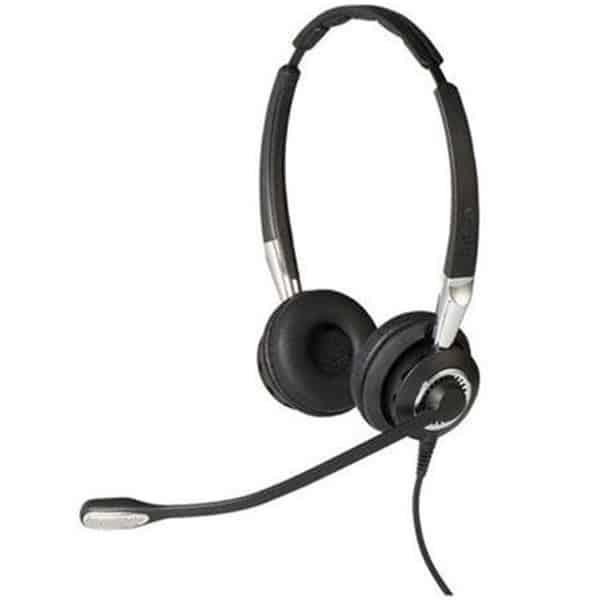 JABRA BIZ 2400 II Duo Noise-Cancelling QD Headset