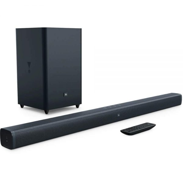JBL SOUNDBAR 2.1 - 2.1-Channel Soundbar with Wireless Subwoofer