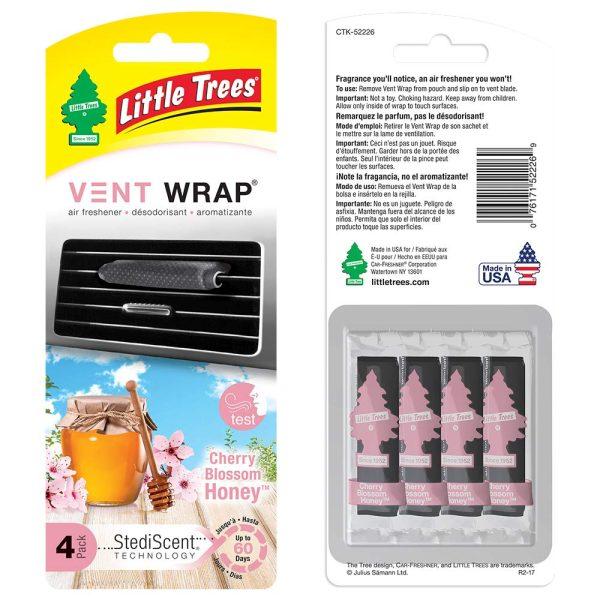 Little Trees - Vent Wrap Cherry Honey (Pack of 4)