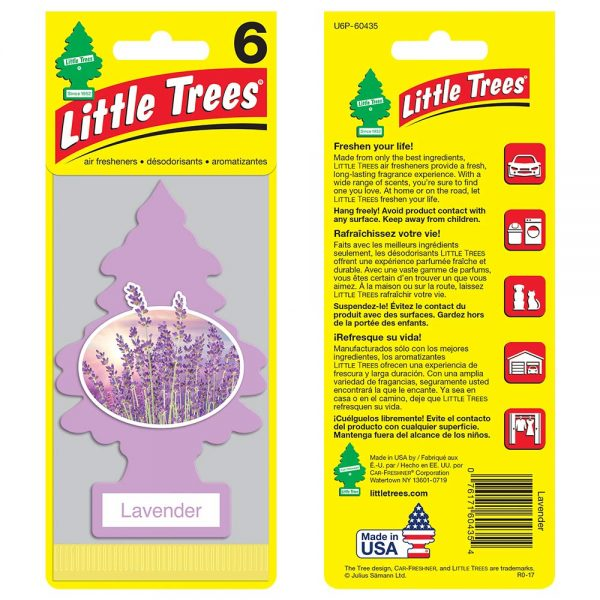Little Trees - Lavender (Pack of 6)
