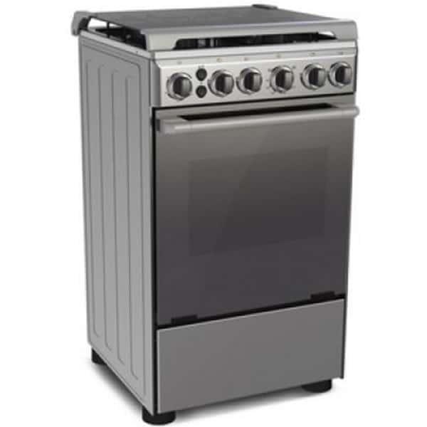 MIDEA Standing 4 Gas Burner Oven 50cm 20BMG4G057