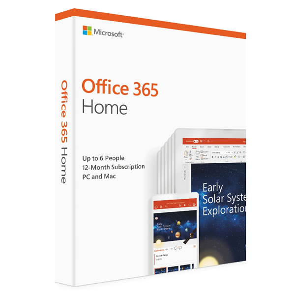 Microsoft 365 Family Edition - 6 Users