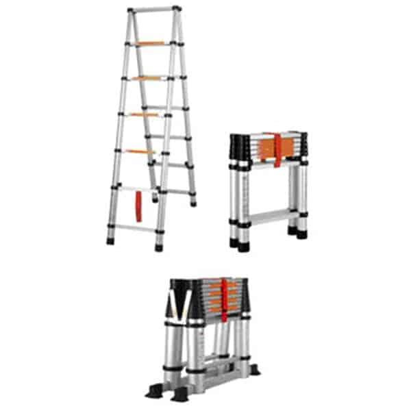 PACIFIC Telescopic Stepladder - 6-Steps Ladder - X2000