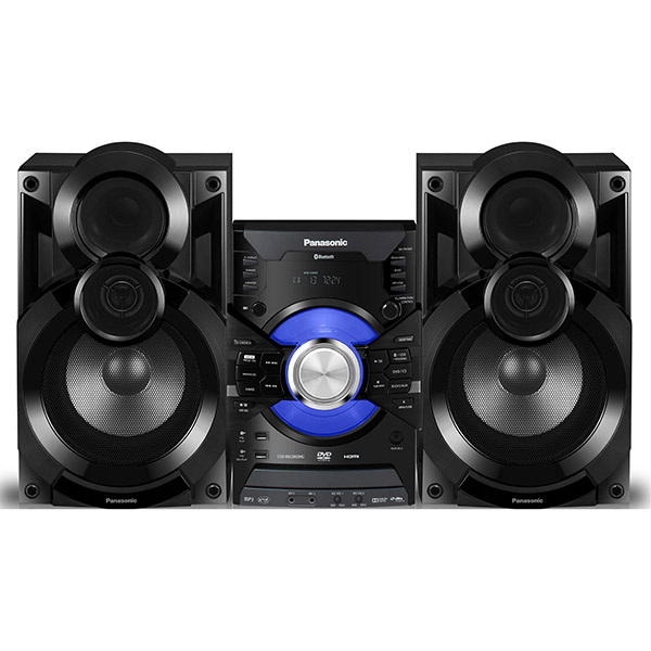 PANASONIC Speaker System - 6000W DVD Player with Bluetooth