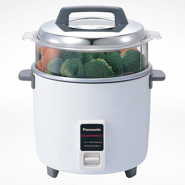 PANASONIC Rice Cooker - 2.2L Capacity, Steam Basket