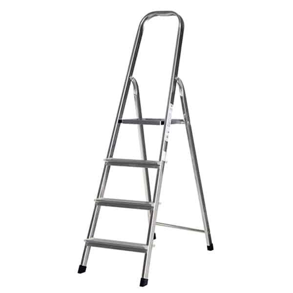SILOY 4 Steps Stable Ladder (Aluminium Body)