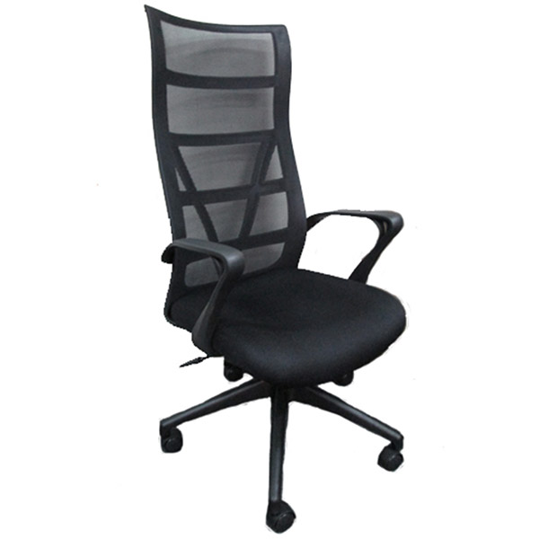 SILOY Furniture - Office Comfort Black Pivot Chair - MS212GATL
