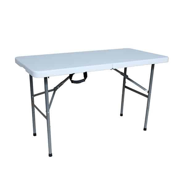 SILOY Furniture - White Tough Folding Table 4FT - SD122
