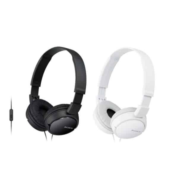 SONY ZX110 Headphones with Swivel Folding Design
