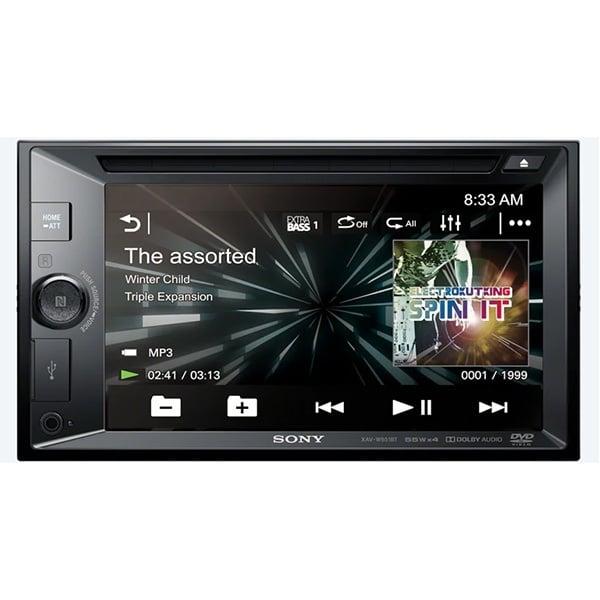 SONY 15.7cm 6.2 Inch LCD DVD Receiver XAV-W651BT