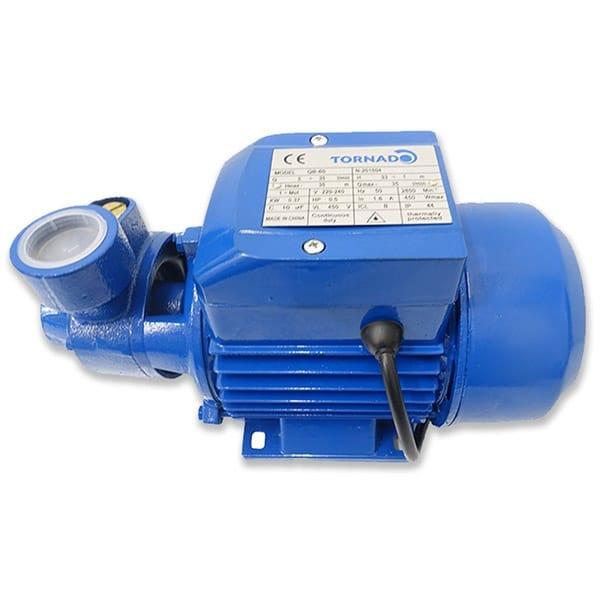 TORNADO Water Pump - Powerful 1.0 HP 0.75W 50 L/min - QB80