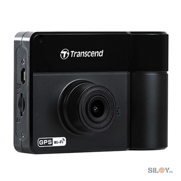 TRANSCEND Dashcam DrivePro DP550 2.4 Inch LCD with Suction Mount - TS-DP550A-64G